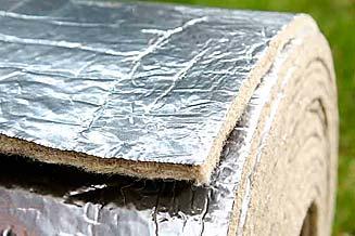 Isolante riflettente per isolamento termico in edilizia for Isolamento termico alta temperatura