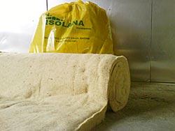 Produzione e vendita pannelli in lana di pecora - Materassini isolanti ...